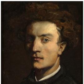 El pintor Francesc Torrescassana