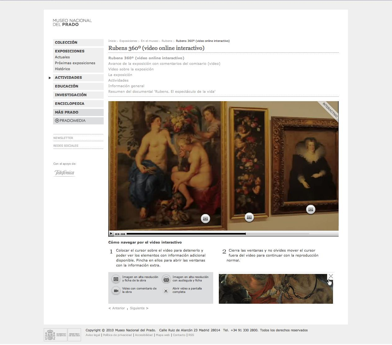 "The Prado ""exhibits"" its Rubens on the Web"
