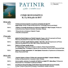 Patinir [Recurso electrónico] : 3 de julio - 7 de octubre /Museo Nacional del Prado.