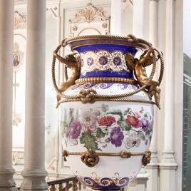 Sèvres porcelain vase