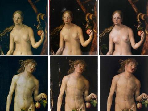 Las tablas <em>Adán y Eva</em>, de Durero, vuelven a exhibirse en el Museo del Prado