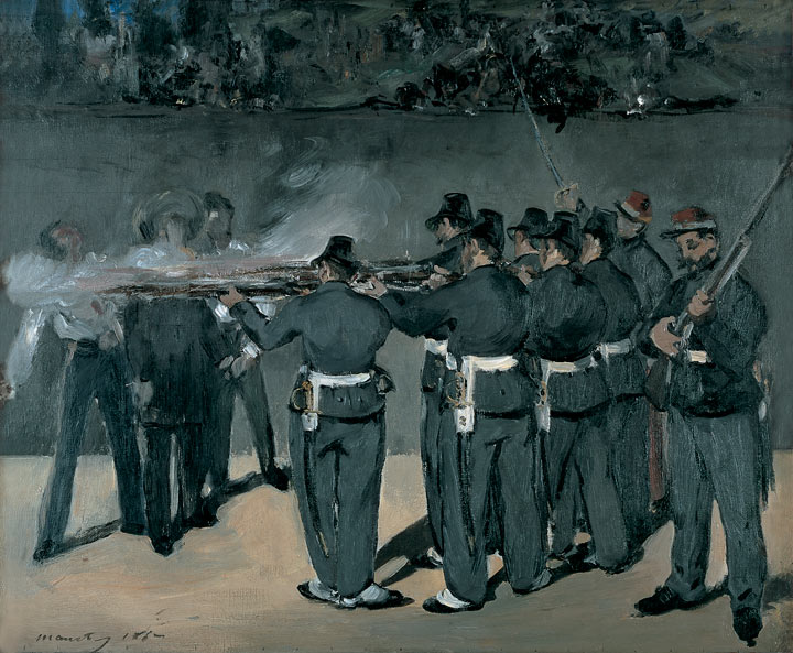 Manet after Spain, up to the Civil War in 1871