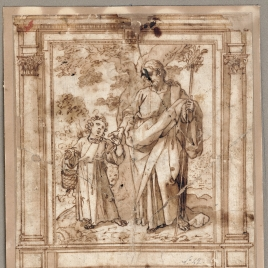Saint Joseph and the Child Jesus