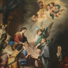 The Apparition of the Virgin to Saint Ildephonsus