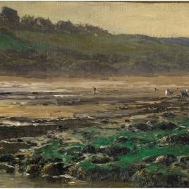 Marea baja. Playa de Villerville