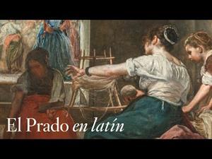 """""""Las hilanderas o la fábula de Aracne"""", de Velázquez, con comentarios en latín"""