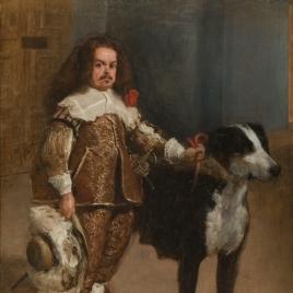 Dwarf with a Dog