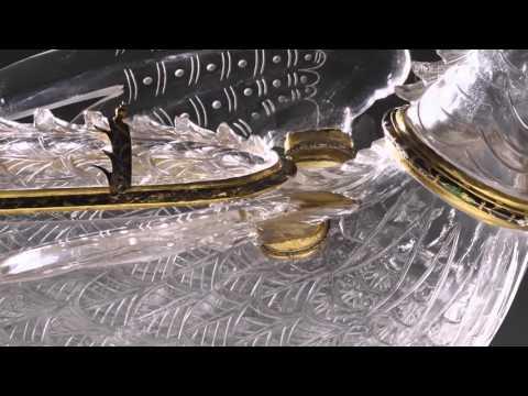 Obras comentadas: Vaso en forma de dragón o caquesseitão, taller de los Sarachi