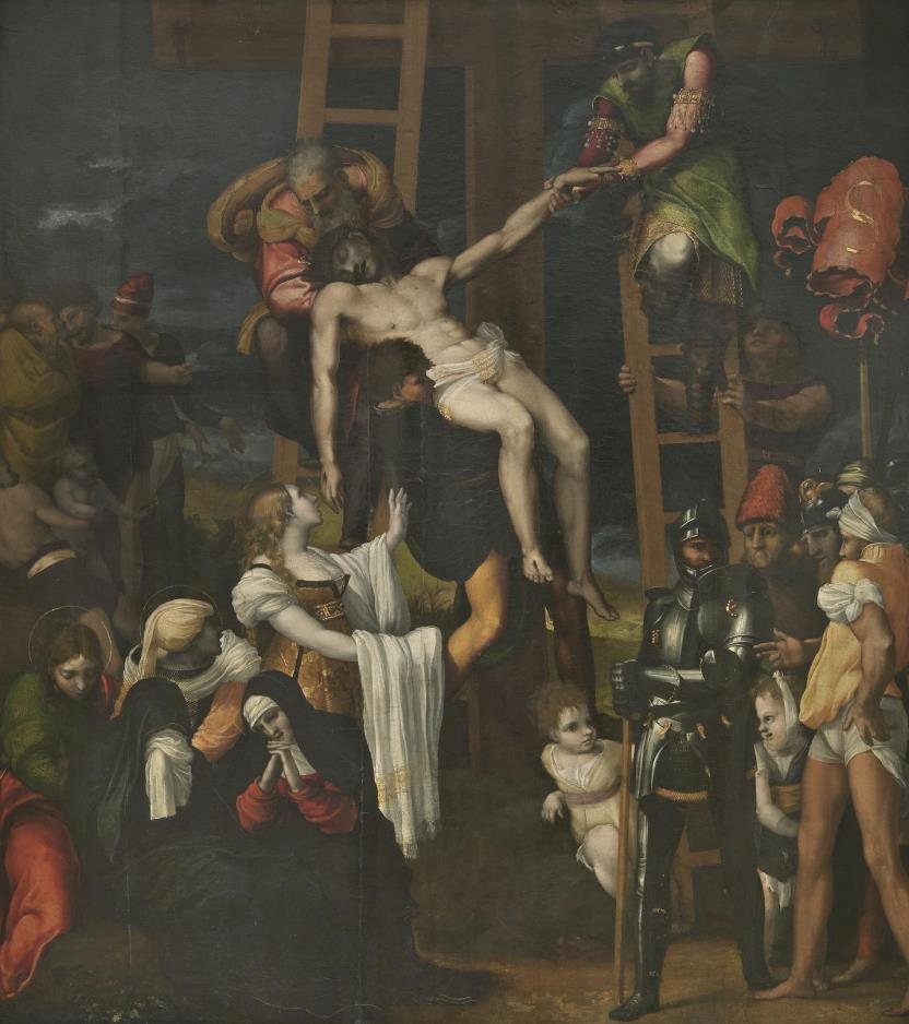 The Descent from the Cross (photographic reproduction)