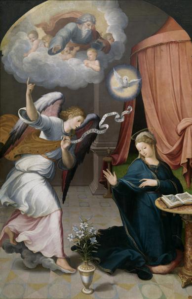 Retablo de la Anunciación (reprodución fotográfica)