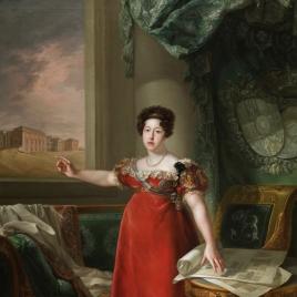 María Isabel de Braganza como fundadora del Museo del Prado