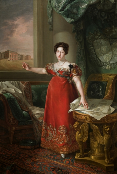 Maria Isabel of Braganza, Queen of Spain, as Founder of the Museo del Prado