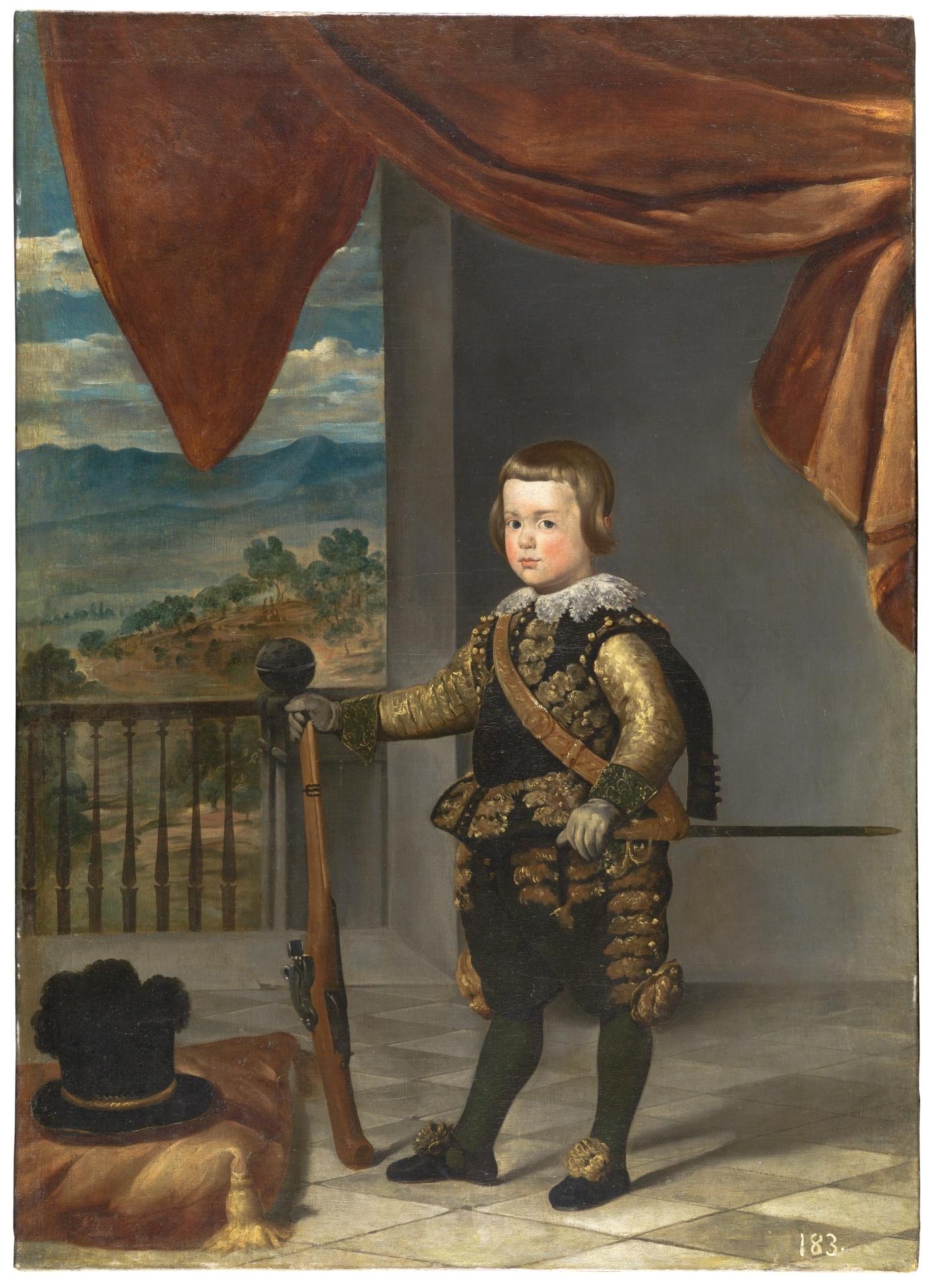El príncipe Baltasar Carlos - Colección - Museo Nacional del Prado
