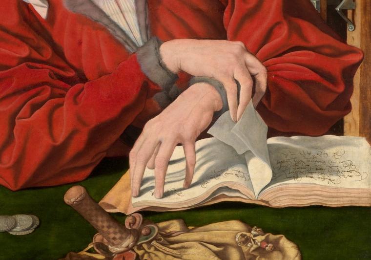 Los libros representados en las obras del Prado