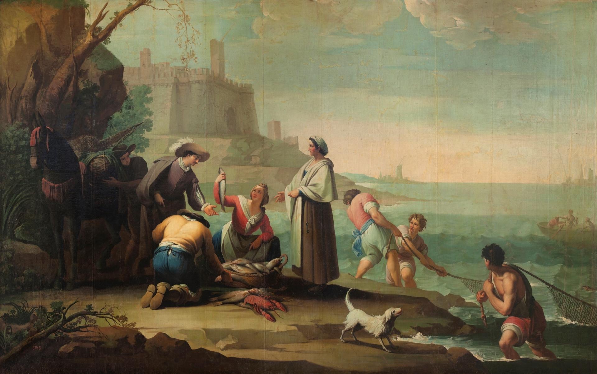 Pescadores - Colección - Museo Nacional del Prado