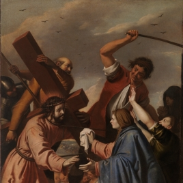 Christ Bearing the Cross Meets Veronica