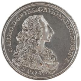 Carlos VII de Nápoles y Sicilia (futuro Carlos III de España) / Coronación como Carlos VII en el Duomo de Palermo