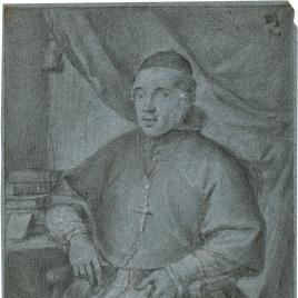 Retrato de Cardenal / Apunte de cabeza