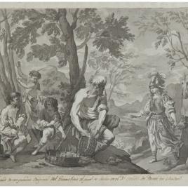 Herminia y los pastores