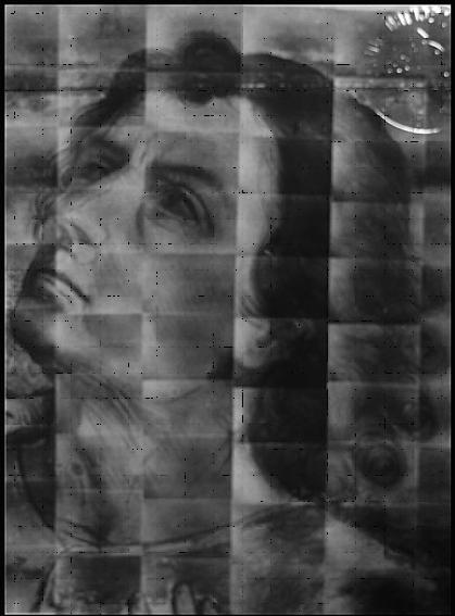 Fig.1. Detalle de la reflectografía infrarroja realizada en 1981