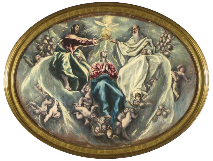 <em>La coronación de la Virgen</em>
