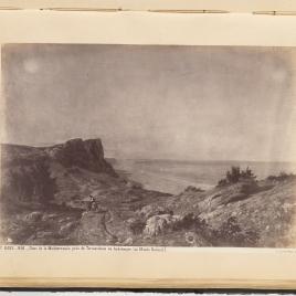 Un paisaje. Recuerdos de Andalucía, costa del Mediterráneo, junto a Torremolinos