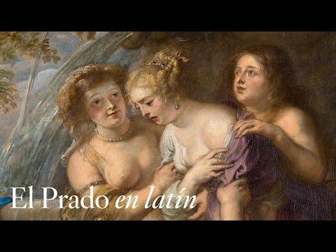 """""""Diana y Calisto"""", de Rubens, con comentarios en latín"""