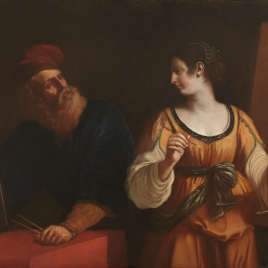 Tiziano y la Pintura o El Dibujo y la Pintura