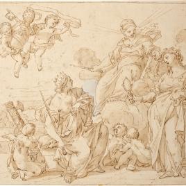 Alegoría del papado de Alejandro VIII