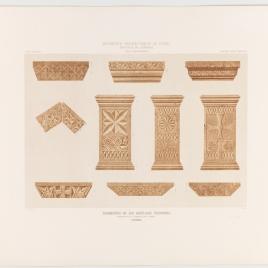 Fragmentos de las basílicas visigodas conservados en la Mezquita de Córdoba