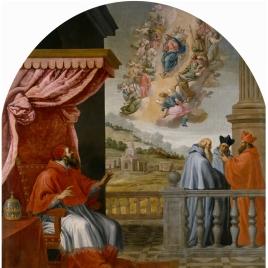 Visión del papa Víctor III