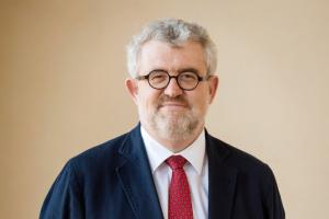 El director del Museo del Prado, Miguel Falomir, recibe el premio I Tatti Mongan