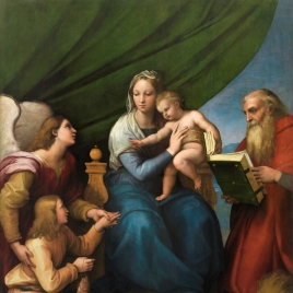 The Holy Family with Raphael, Tobias and Saint Jerome, or the Virgin with a Fish