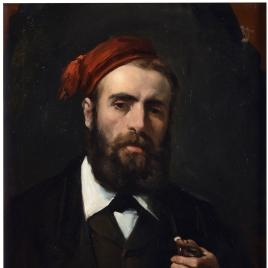 El pintor Miguel Jadraque