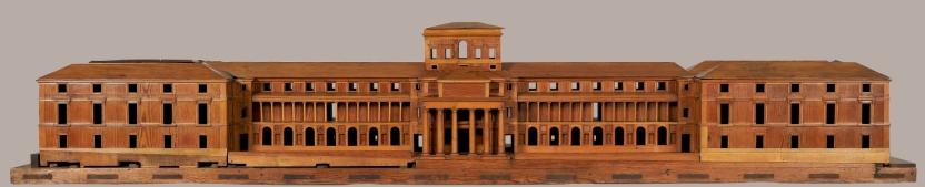 Model of Juan de Villanueva's project for the Cabinet of Natural History