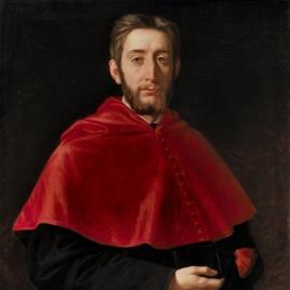 El pintor Enrique Melida Alinari, togado