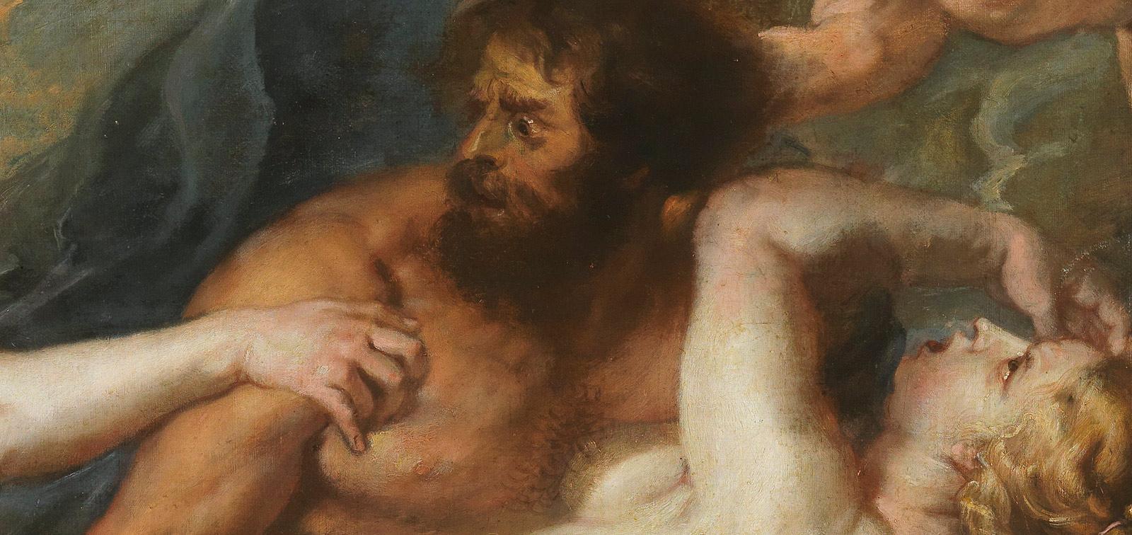 <em>El rapto de Proserpina</em>, de Rubens