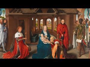 """""""Tríptico de la Adoración de los Magos"""", de Hans Memling"""