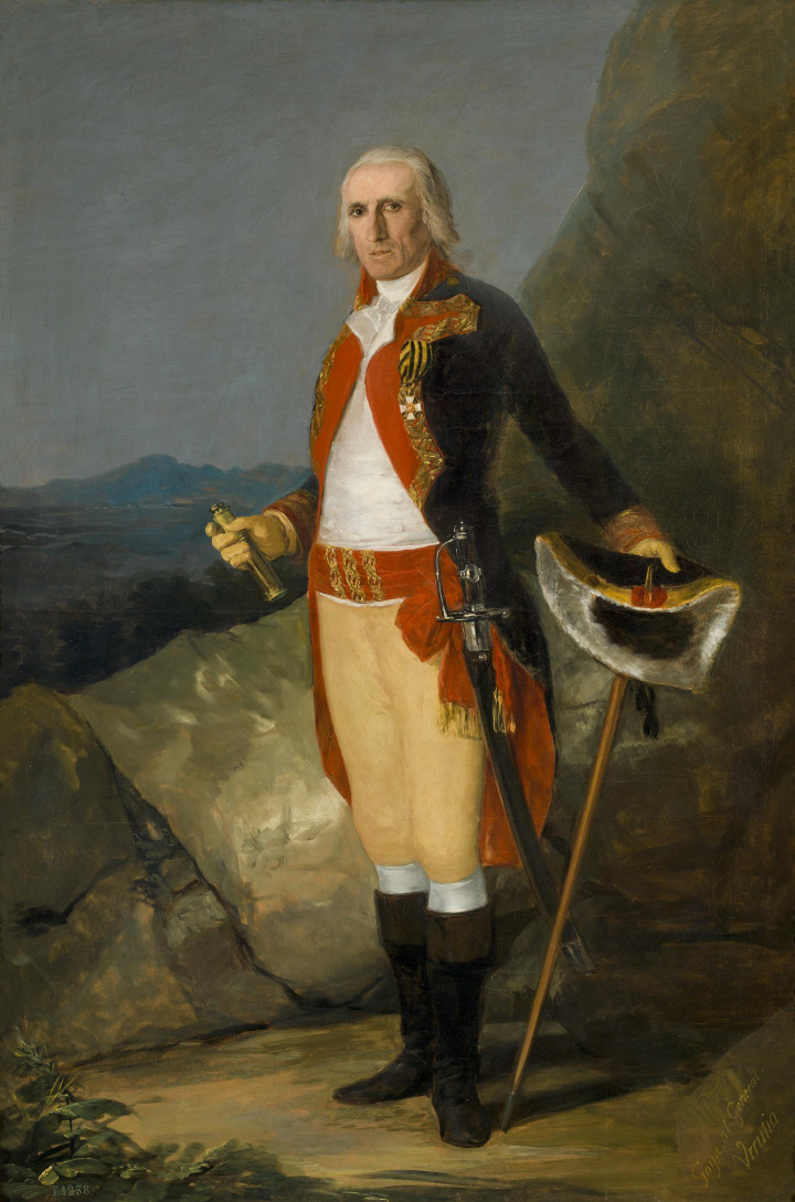 El retrato del general don José de Urrutia, de Francisco de Goya