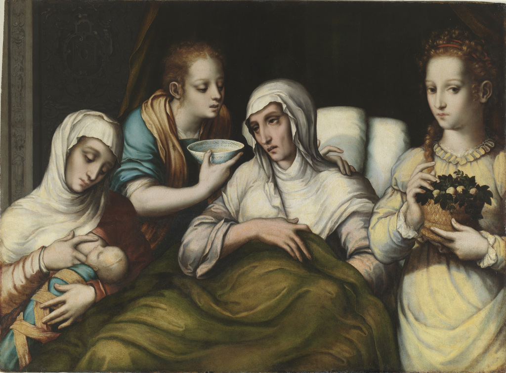 Del dulce pintar. Around the Virgin and Child