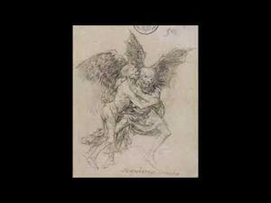 """Cuadernos de Burdeos (G) y (H). Goya. Dibujos. """"Solo la voluntad me sobra"""""""