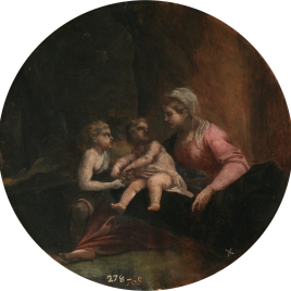 The Virgin and Child with the Infant Saint John the Baptist