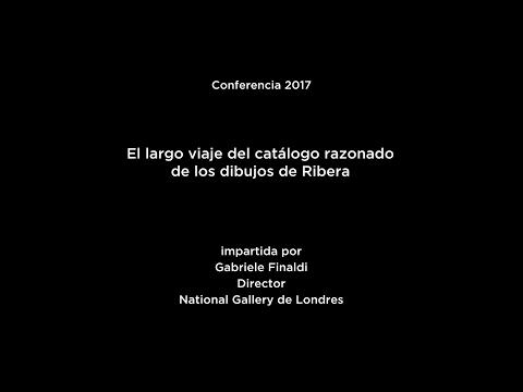 Conferencia: El largo viaje del catálogo razonado de los dibujos de Ribera
