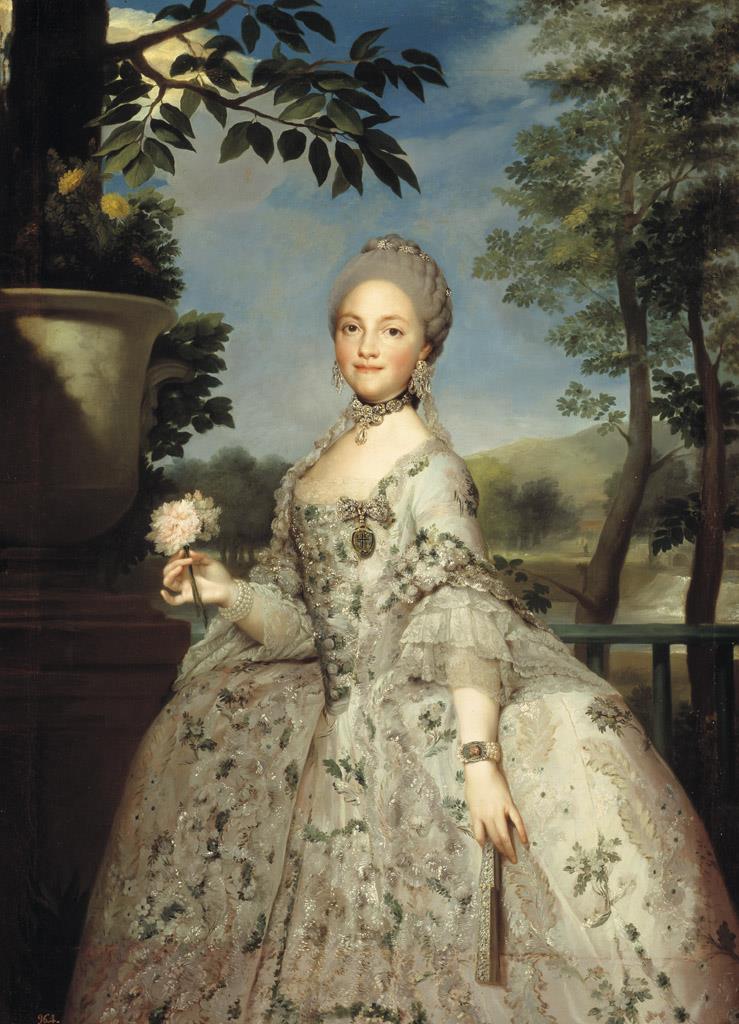 María Luisa de Parma, princesa de Asturias [Mengs]