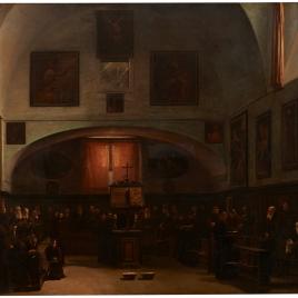 Capuchinos en el coro