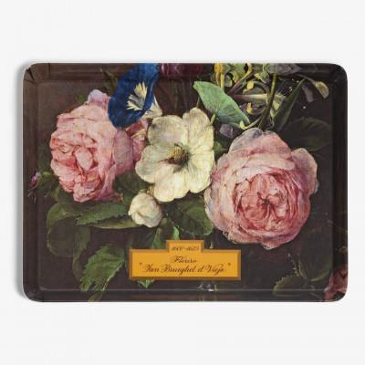"""Vase of Flowers"" Tray"