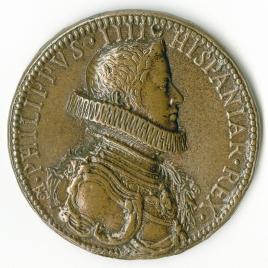 Proclamación de Felipe IV, rey de España  / Apolo en su carro, sobrevolando el orbe