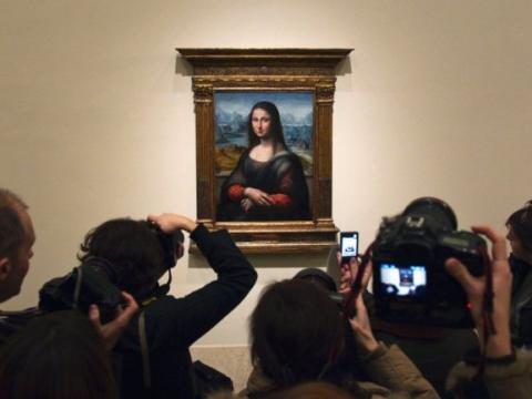 """On Off: La """"otra"""" <em>Gioconda</em> en el Museo Nacional del Prado"""