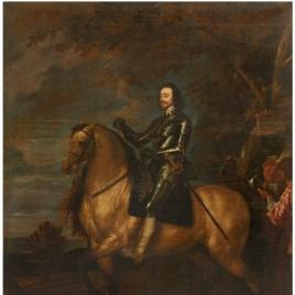 Carlos I de Inglaterra a caballo
