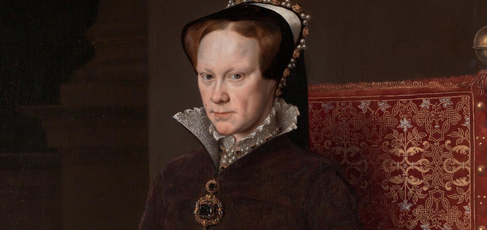 <em>María Tudor, reina de Inglaterra, segunda mujer de Felipe II</em>